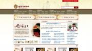 岭南中医药网站设计图